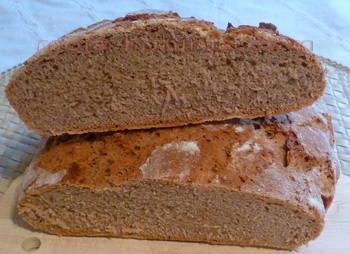 raženi kruh sa kiselim tijestom