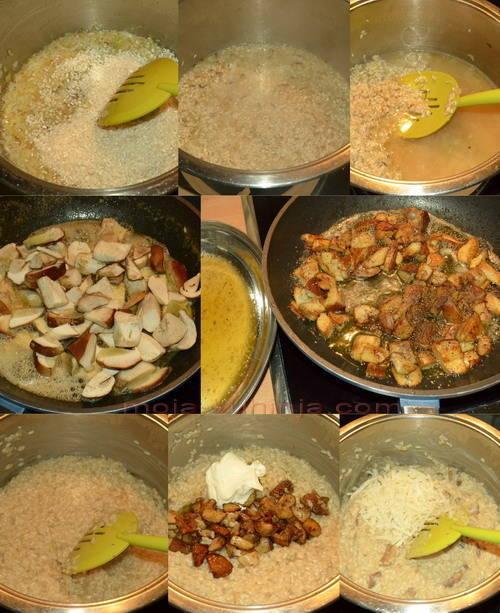 Priprema rižota od vrganja