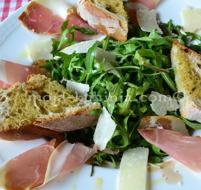 Rikola, riga salata sa pršutom
