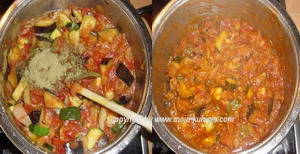 Đuveč priprema povrća