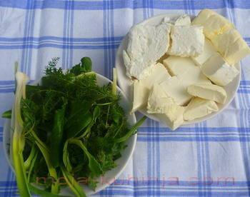 Namirnice za namaz od sira sa mišancijom
