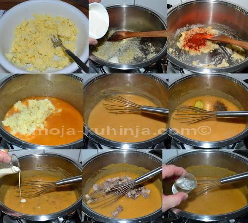 Priprema sosa od krumpira