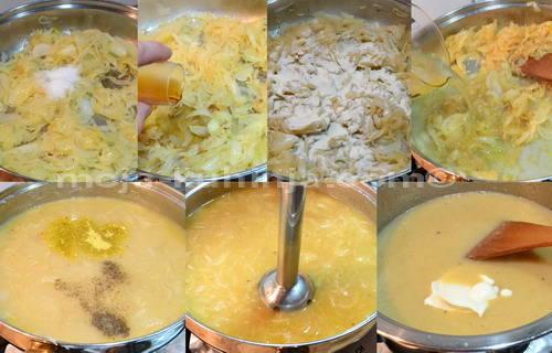 Priprema umaka, sosa od luka