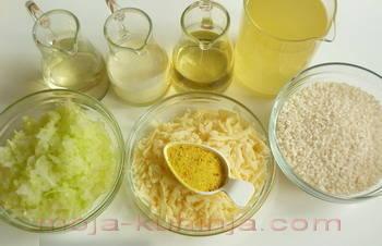 Sastojci za rižoto