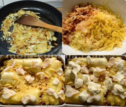Priprema žute špic paprike punjene sa krumpirom priprema