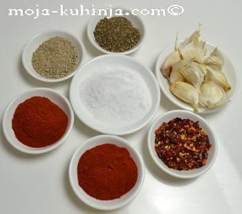 Začini za suhe kobasice