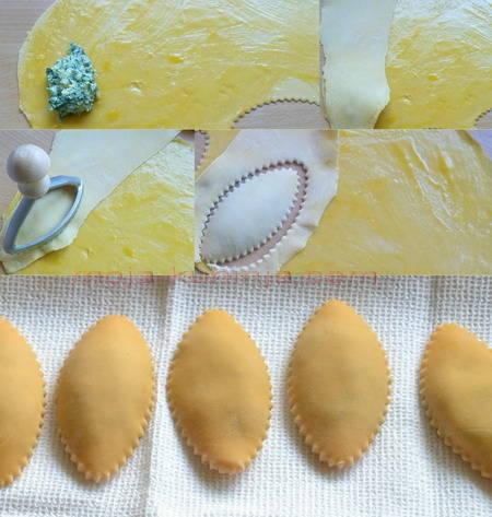 Izrada tortelina punjenih ricotta sirom i špinatom