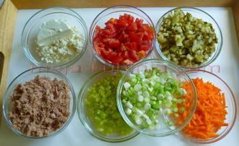 sastojci za tuna salatu