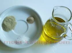 maslinovo ulje i začin iz provanse
