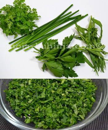 Fine trave, francuska začinska mješavina - fines herbes