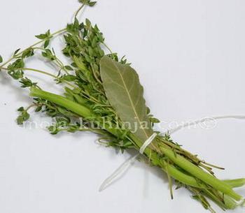 Začinski buket - Bouquet garni
