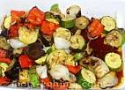Ražnjići od povrća sa roštilja