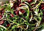 Salata od graha sa divljimradičem ili regmentom