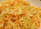 Salata od sviježe repe i mrkve sa orasima
