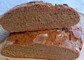 Raženi kruh sa kiselim tijestom, sauerteigom