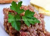 Tatarski od tune | Tuna tatar | Tatarski biftek od tune