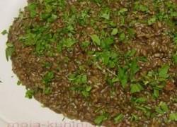 Crni mornarski rižoto od sipe