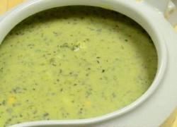 Hladni, zeleni sos od mišancije