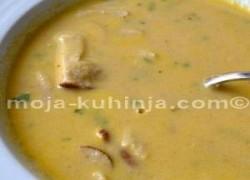 Krem juha od kestena sa vrganjima