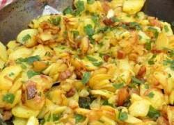 Pečeni krumpir u tavici na zagorski način