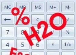 Razrjeđivanje esencije | Računalo za razrjeđivanje
