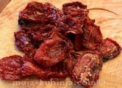 Sušenje paradjza - Sušena rajčica - Sušeni pomidori