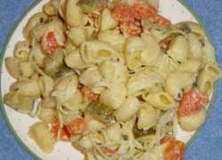 Tjestenina salata sa sviježim povrćem