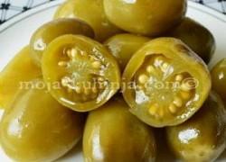 Ukiseljene zelene rajčice | Kiseli zeleni paradajz