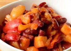 Zimska grah salata sa povrćem