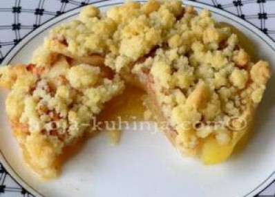 Crumble od jabuka | Apple crumble