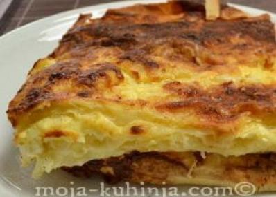 Gibanica sa sirom | Gužvara