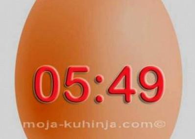 Koliko dugo kuhati jaja - Vrijeme kuhanja jaja