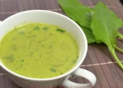 Krem juha od medvjeđeg luka, srijemuša