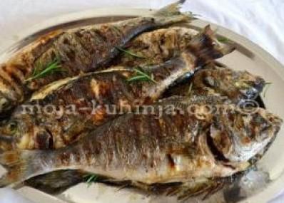 Riba sa roštilja | Riba iz pećnice